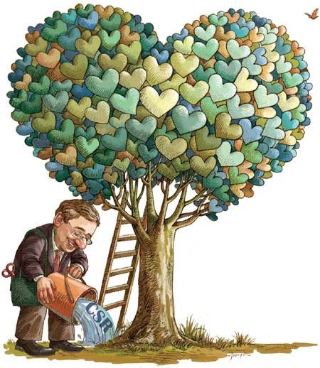 CSR,üzlet és filantrópia (Fotó: Pinterest)