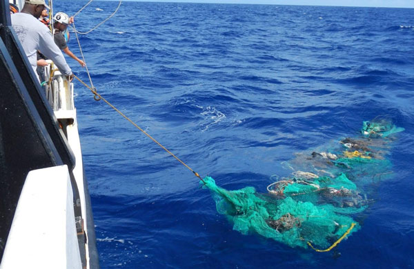 Nagytakarítás a Csendes-óceánon